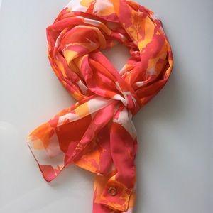 Calvin Klein | Amazing Multi-Color Floral Scarf